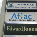 Street View Signs Baton Rouge, Aflac Duck District Sales Office Photo - Greater Baton Rouge Signs