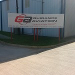 Guidance Aviation Aluminum Sign
