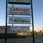 Acadian Home Theater & Automation Panel for Lighted Sign - Greater Baton Rouge Signs