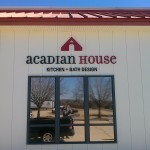 Acadian House Nonlit - Letters Sign