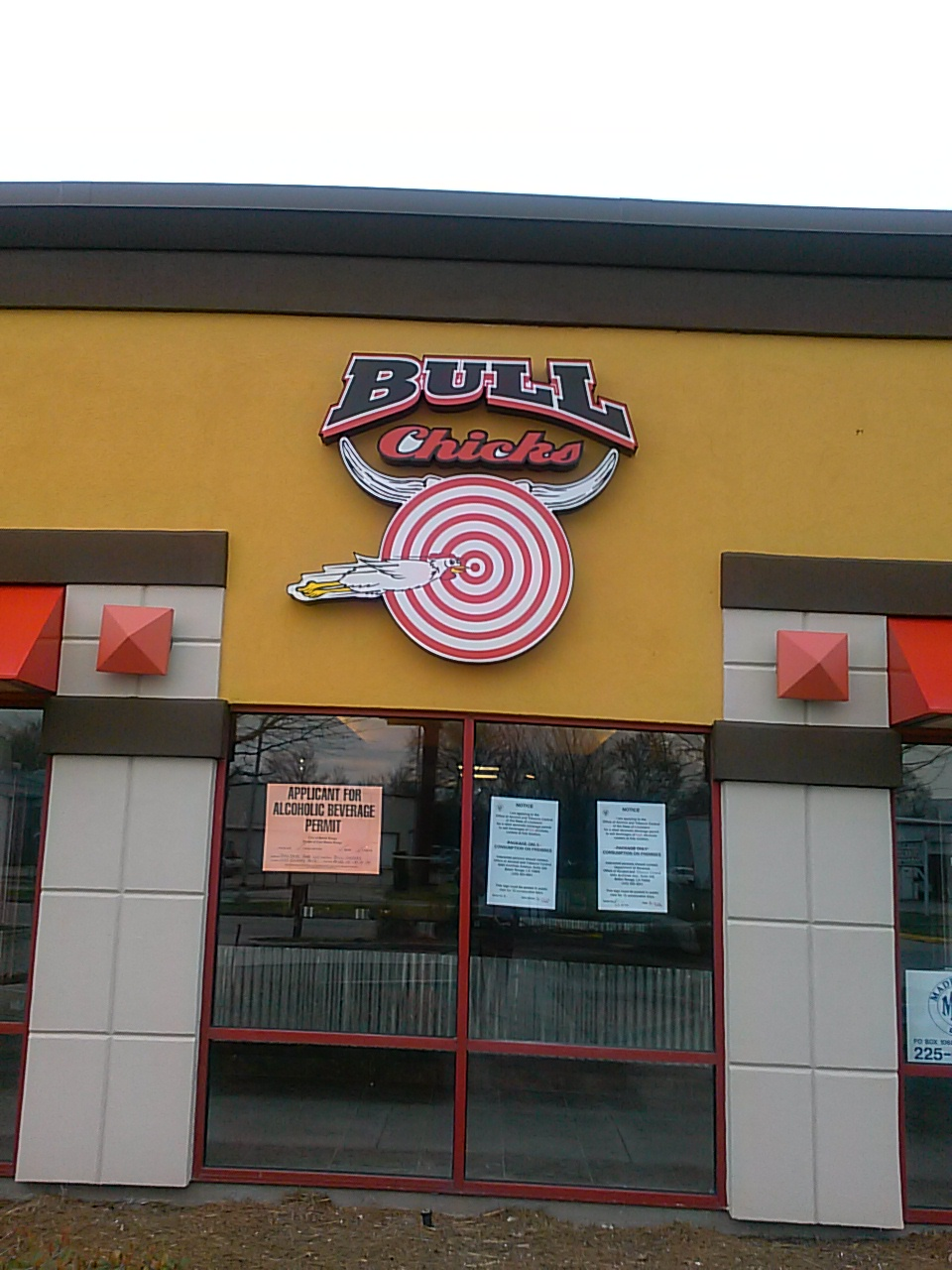 BullChicks Lighted Sign