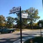 Forest Creek Subdivision - Tiger Bend Rd. & Forest Creek Dr. Street Signs Photo - Greater Baton Rouge Signs