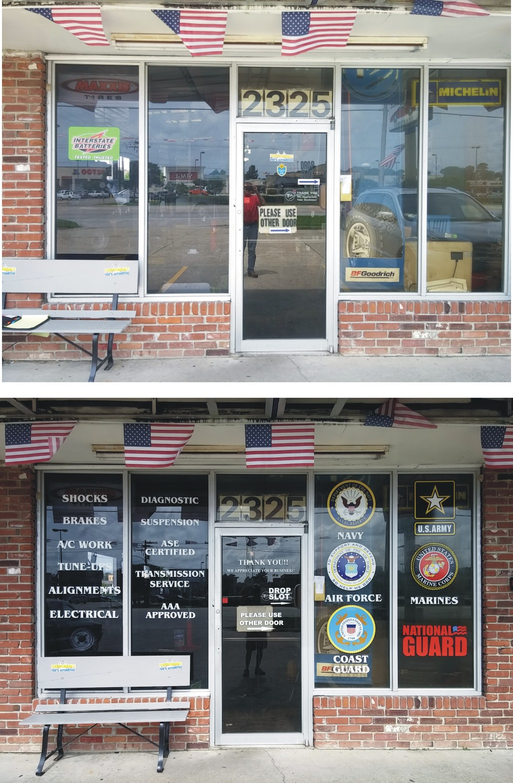 Performance Tire & Automotive Vinyl Graphics For Glass - Greater Baton Rouge Signs