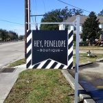 Hey Penelope Boutique HDU Sandblasted Signs - Greater Baton Rouge Signs