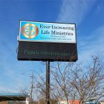 Ever-Increasing Church Lighted Sign - Greater Baton Rouge Signs