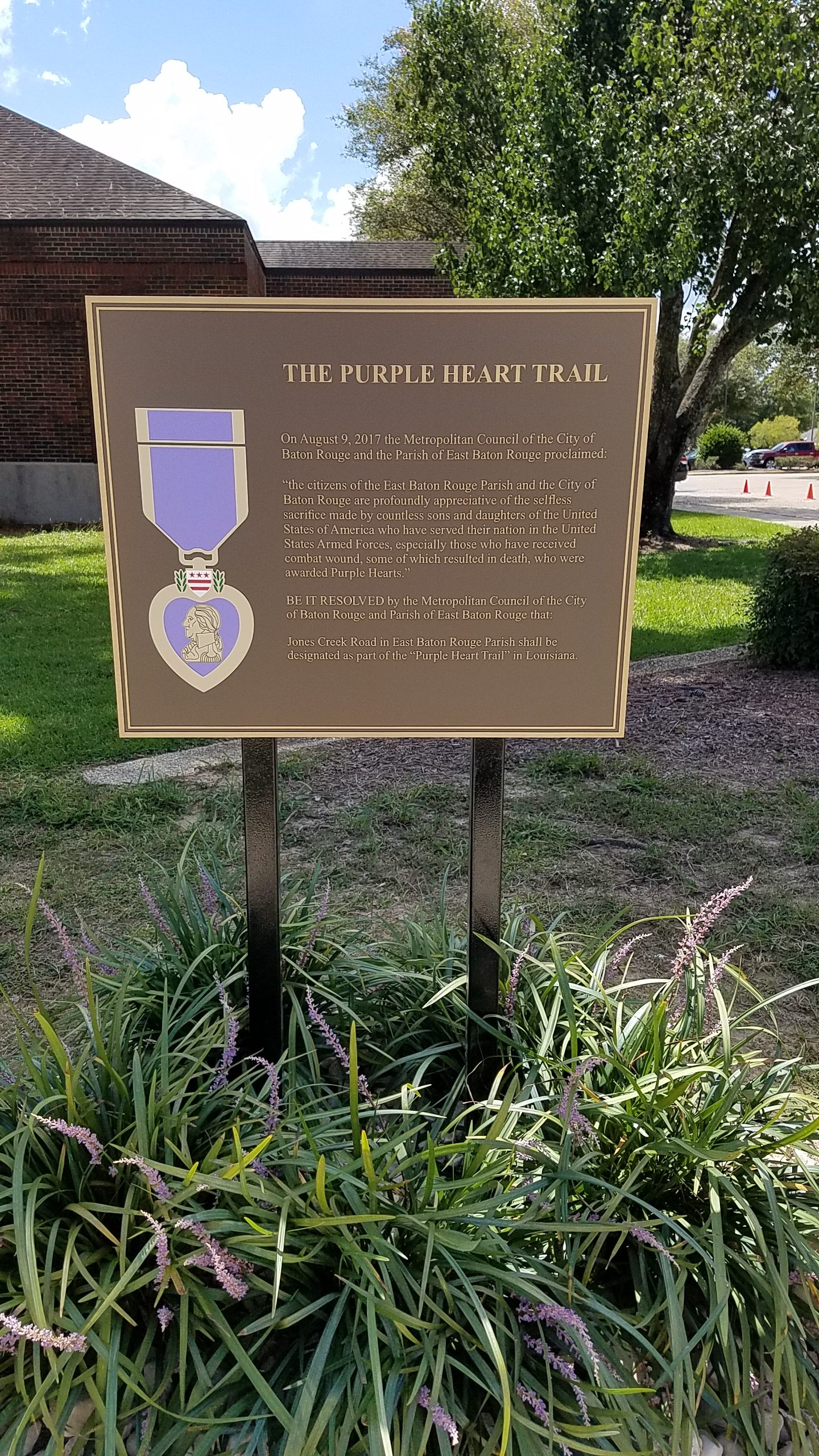 Bronze Plaques Gallery Greater Baton Rouge Signs