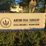 Akin Oral Surgery Nonlit Letters Sign - Greater Baton Rouge Signs